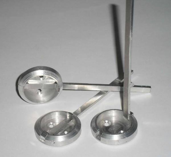 Suporturi metalice pentru sigilii