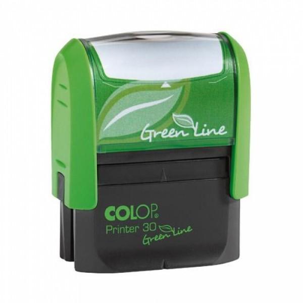Stampila Printer 30 Green Line