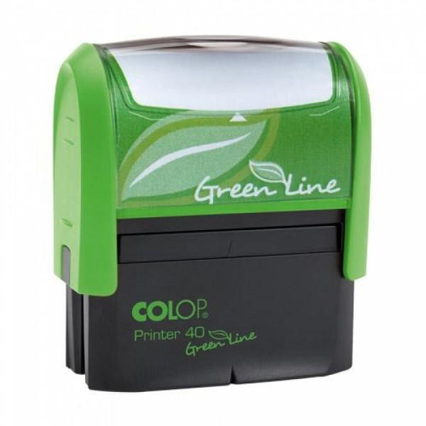 Stampila Printer 40 Green Line