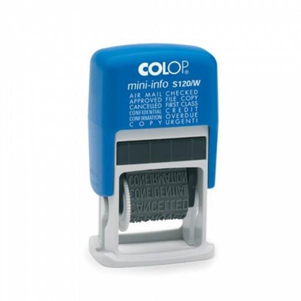 Stampila Mini-Dater S 120/W